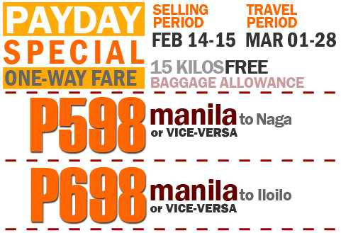 Airphil Express Payday Special