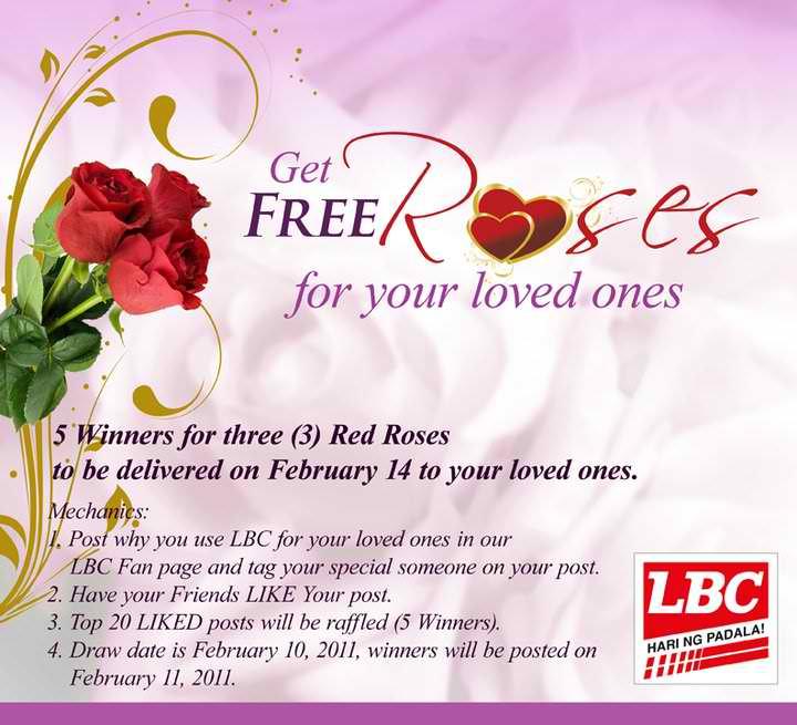 LBC Express Valentine Promo