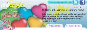 Philstar.com's 2011 Valentine's Day Promo