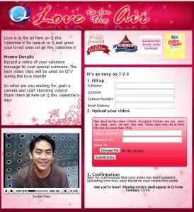 QTV Valentine Promo
